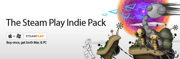 Steam Play Indie Pack Macintosh Front Cover