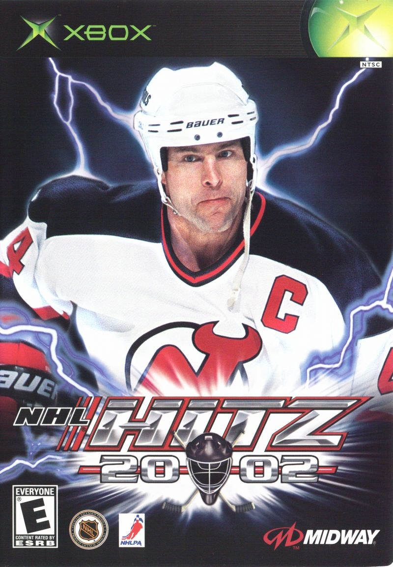 NHL Hitz 20-02 Xbox Front Cover