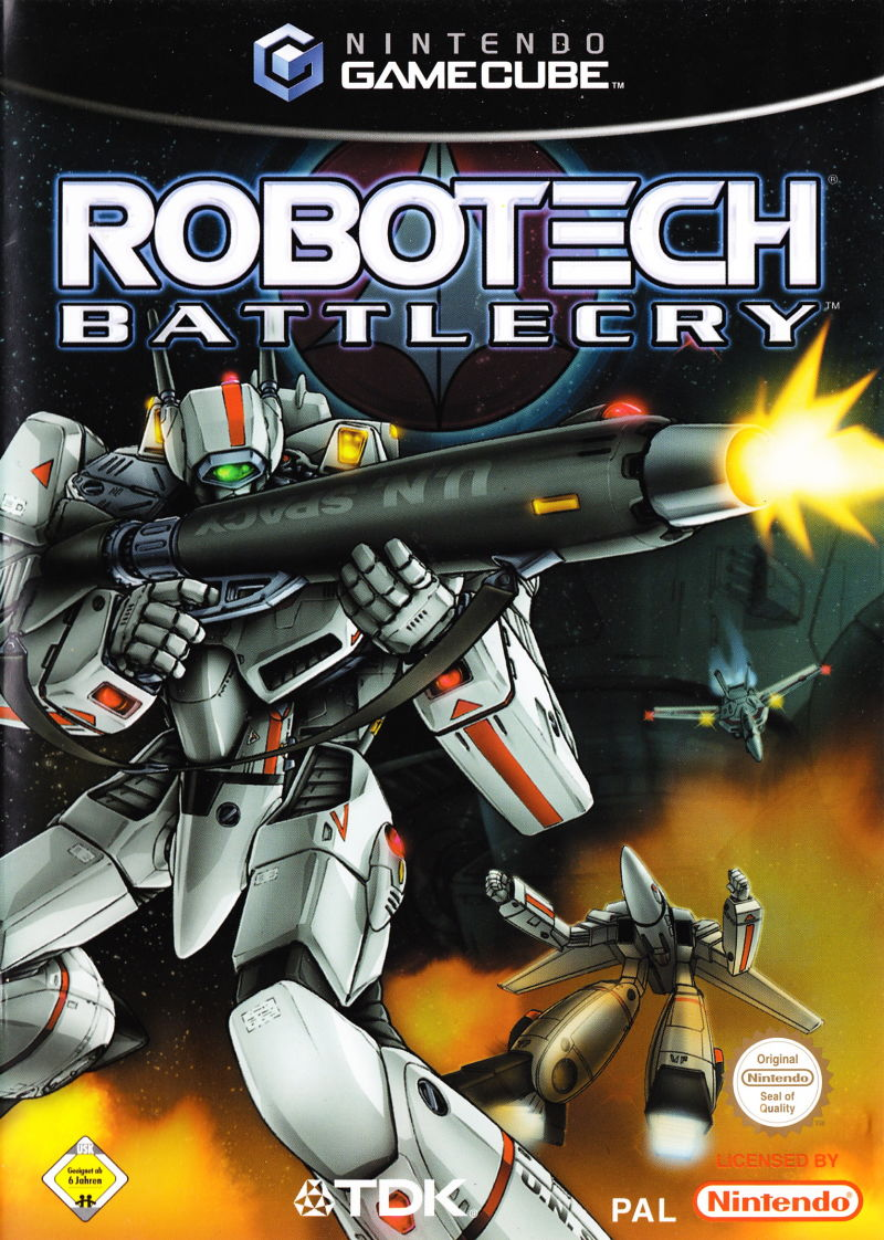 Robotech: Battlecry GameCube Front Cover