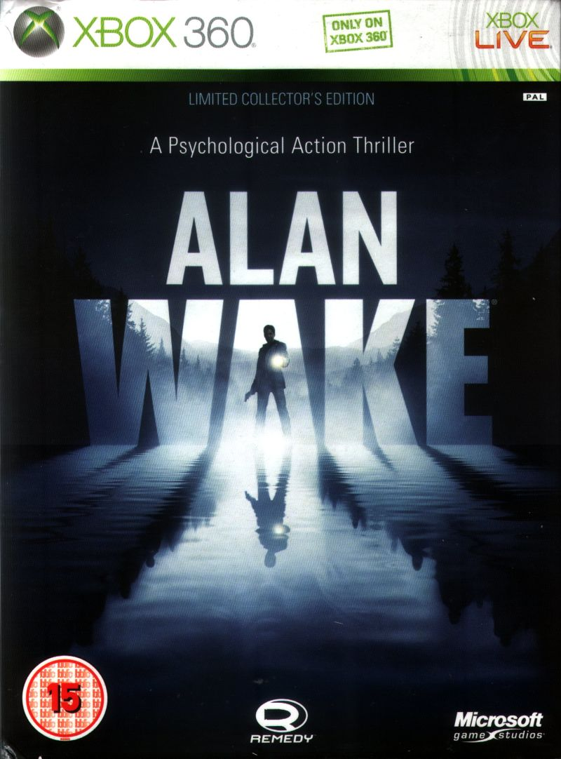 Alan Wake Xbox 360 Download ~ Chameleon Games Xbox 360 Game Covers Download