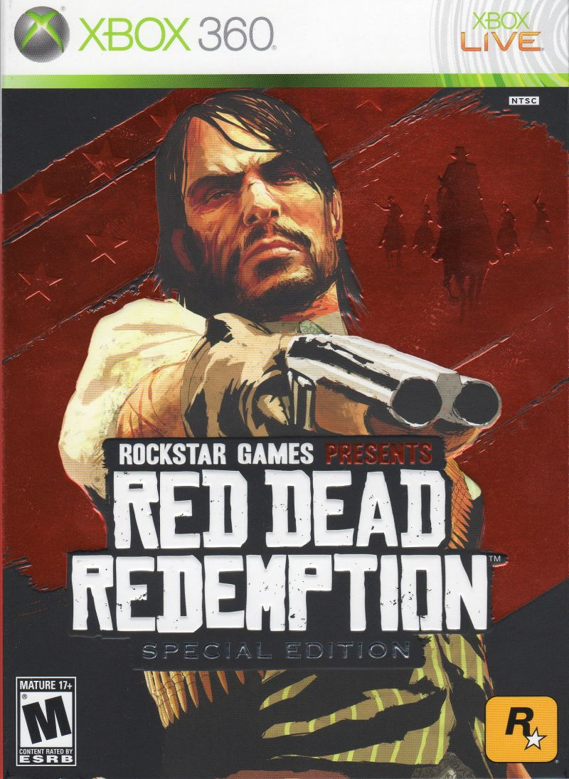 Red Dead Redemption (Special Edition) Xbox 360 Front Cover