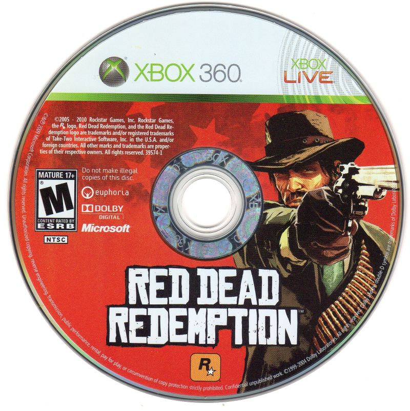 Red Dead Redemption (Special Edition) Xbox 360 Media