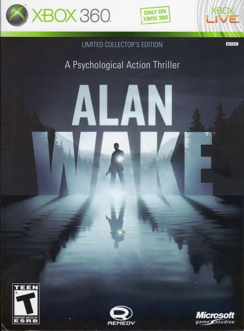 Alan Wake (Limited Collector's Edition) Xbox 360 Front Cover