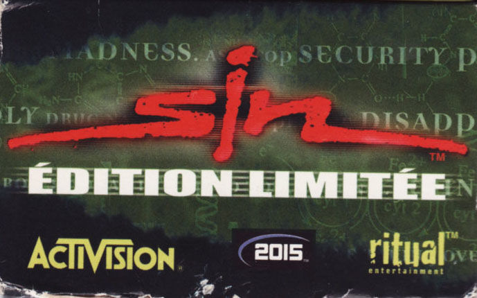 SiN Gold Windows Front Cover