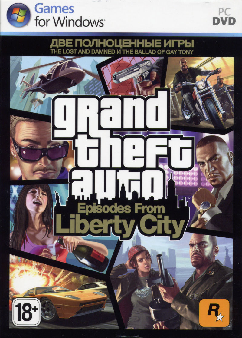 Grand Theft Auto: Episodes from Liberty City Windows Front Cover