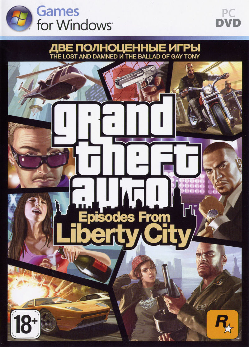 Grand Theft Auto: Episodes from Liberty City Windows Other Keep Case Front