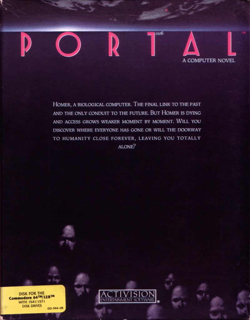 Portal Commodore 64 Front Cover