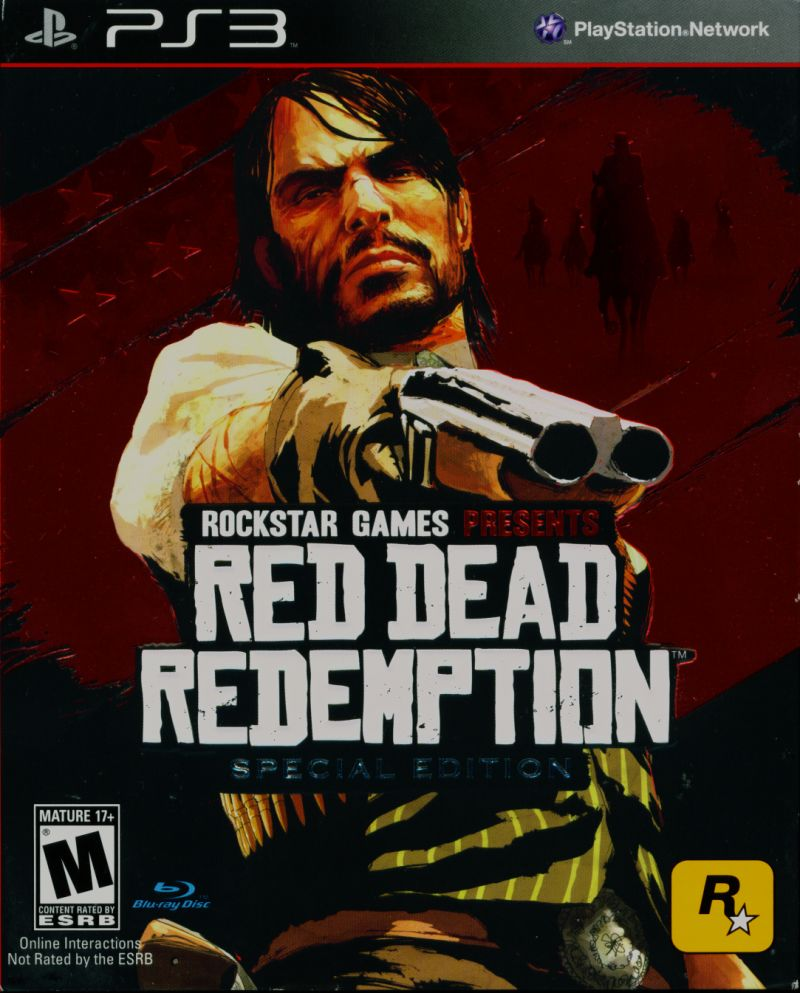 Red Dead Redemption (Special Edition) PlayStation 3 Front Cover