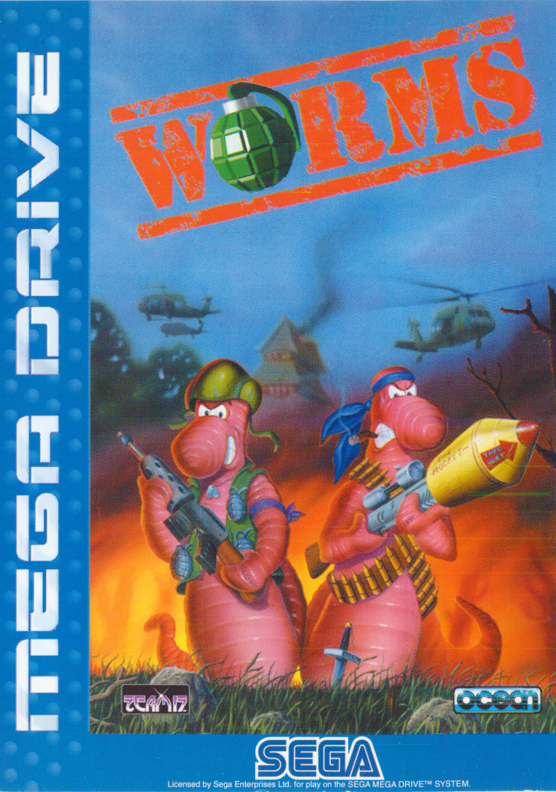 Worms Genesis Front Cover