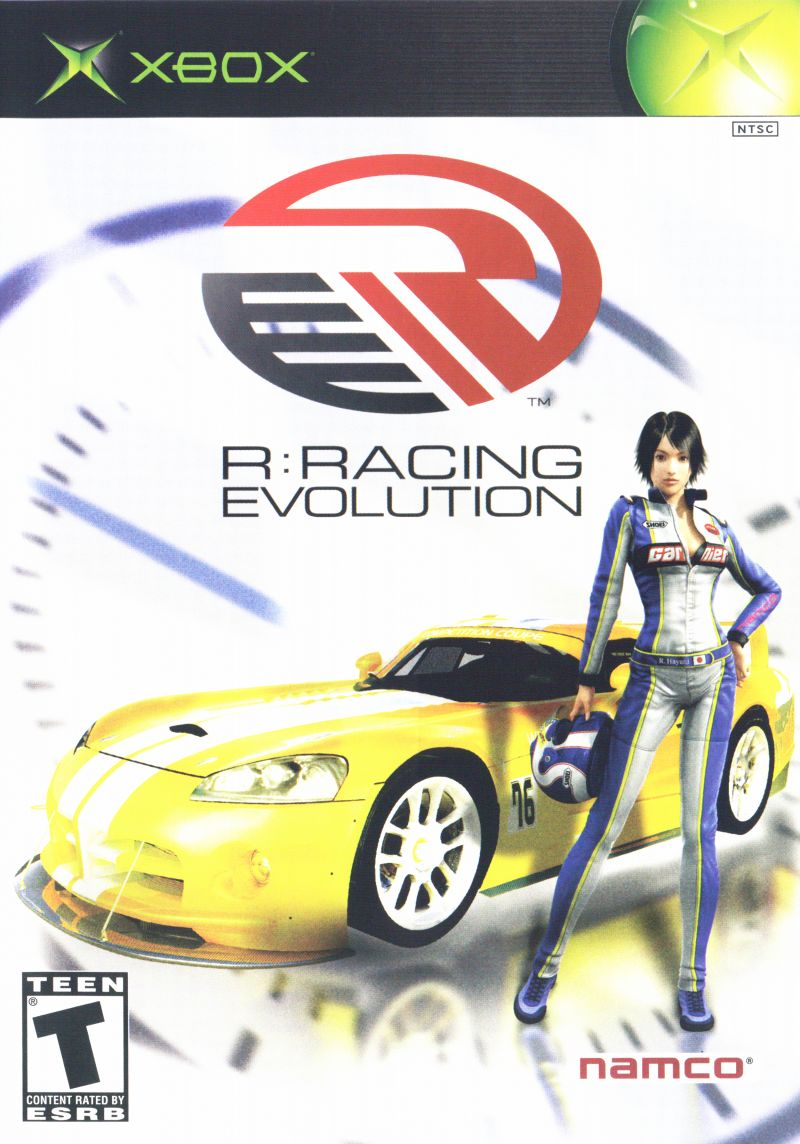 R:Racing Evolution Xbox Front Cover