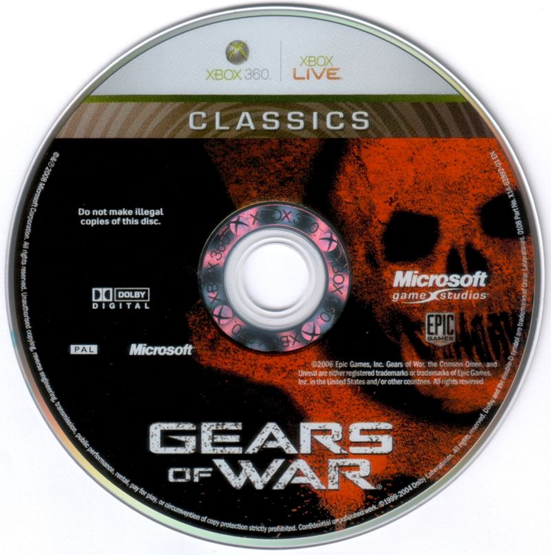 Gears of War Xbox 360 Media