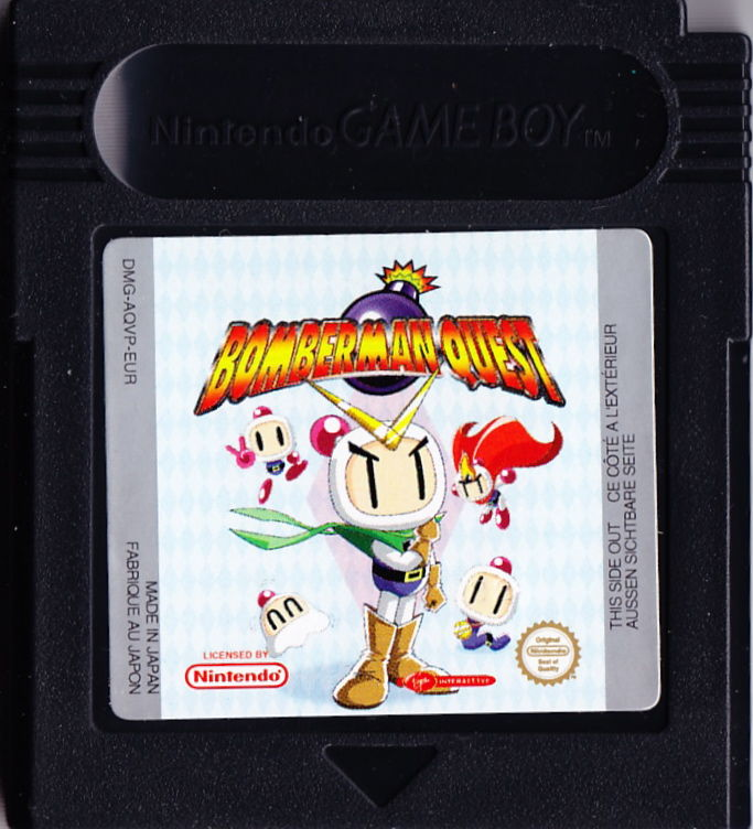 Bomberman Quest Game Boy Color Media