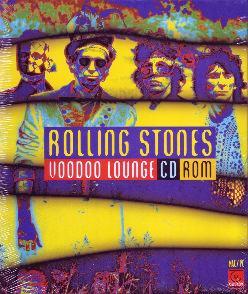 Rolling Stones Voodoo Lounge CD-ROM Macintosh Front Cover