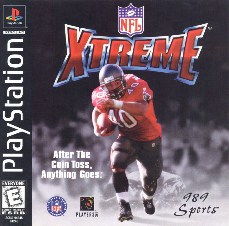 NFL Xtreme PlayStation Front Cover