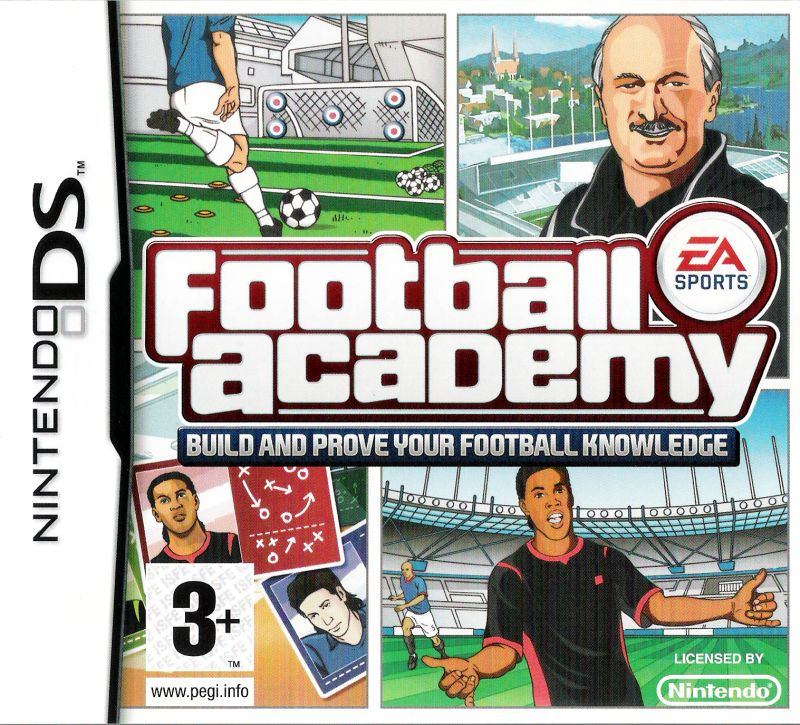 Football Academy Nintendo DS Front Cover