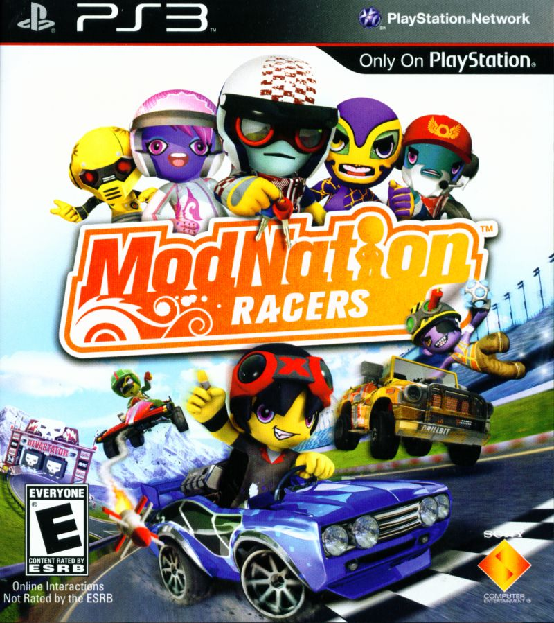 ModNation Racers PlayStation 3 Front Cover