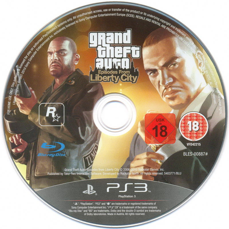 Grand Theft Auto: Episodes from Liberty City PlayStation 3 Media
