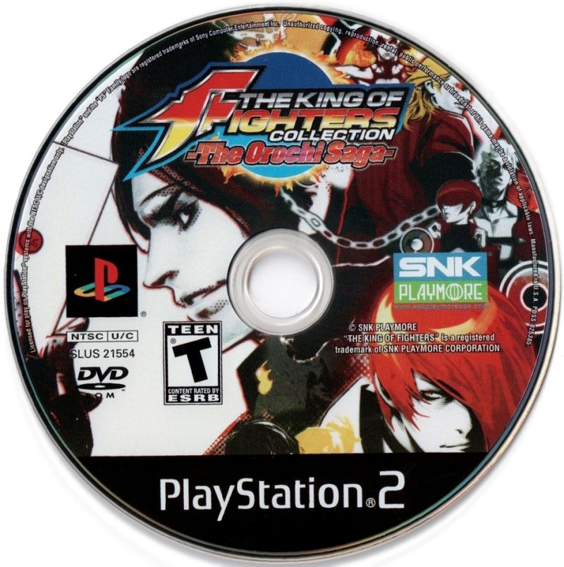 The King of Fighters Collection: The Orochi Saga PlayStation 2 Media