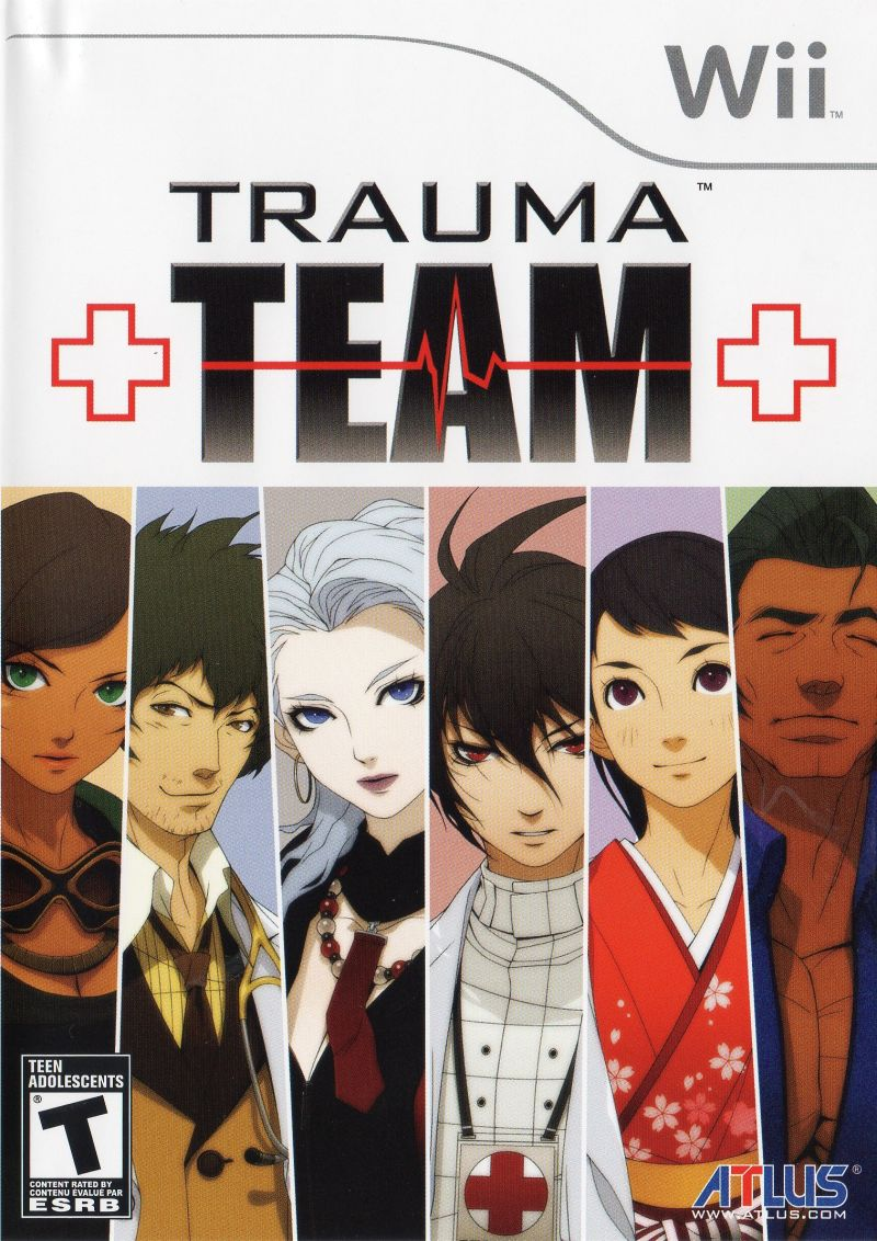 Trauma Team Wii Front Cover
