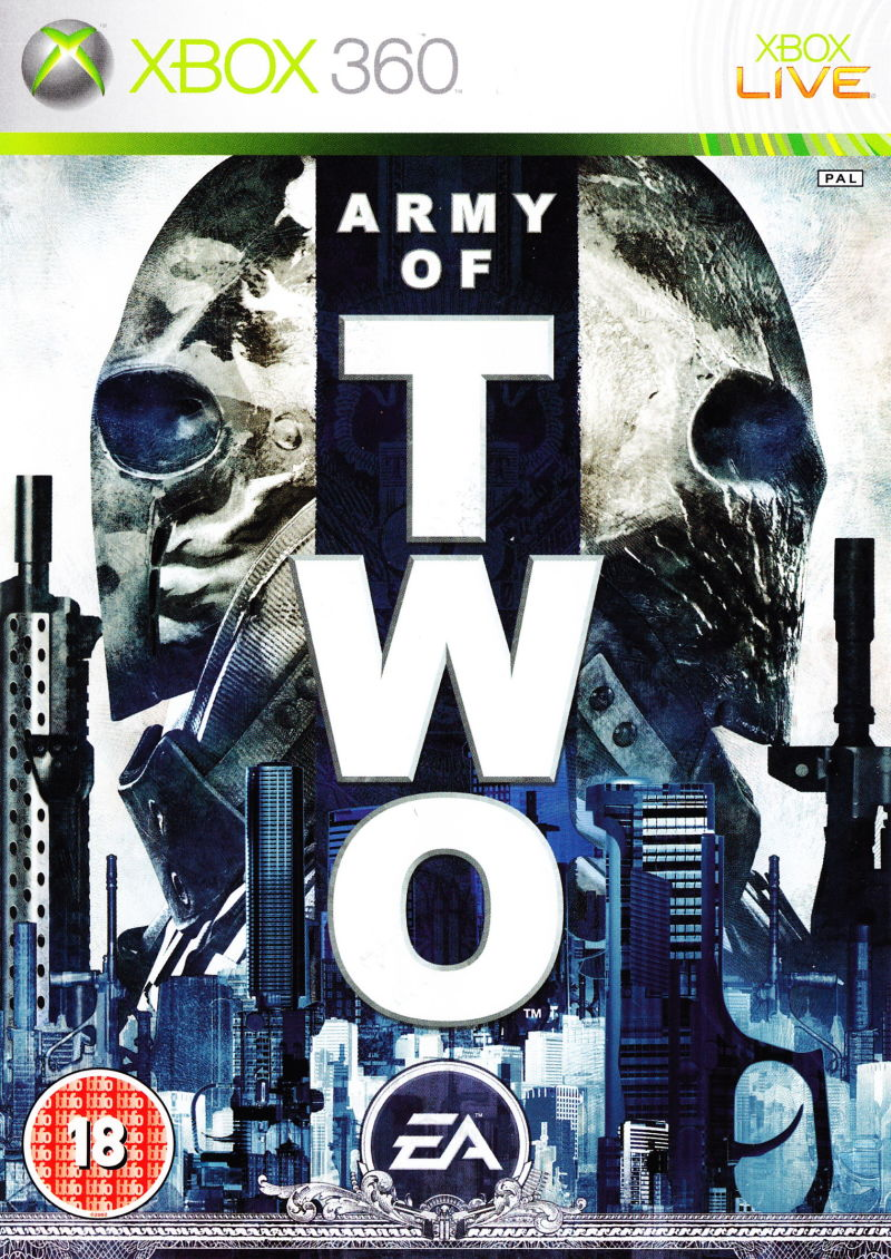 Army of Two Xbox 360 Front Cover
