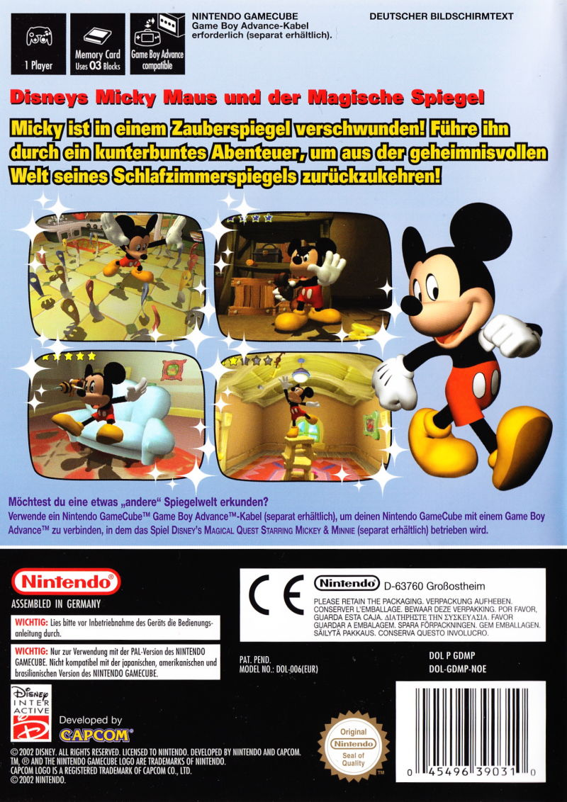 Disney S Magical Mirror Starring Mickey Mouse 2002