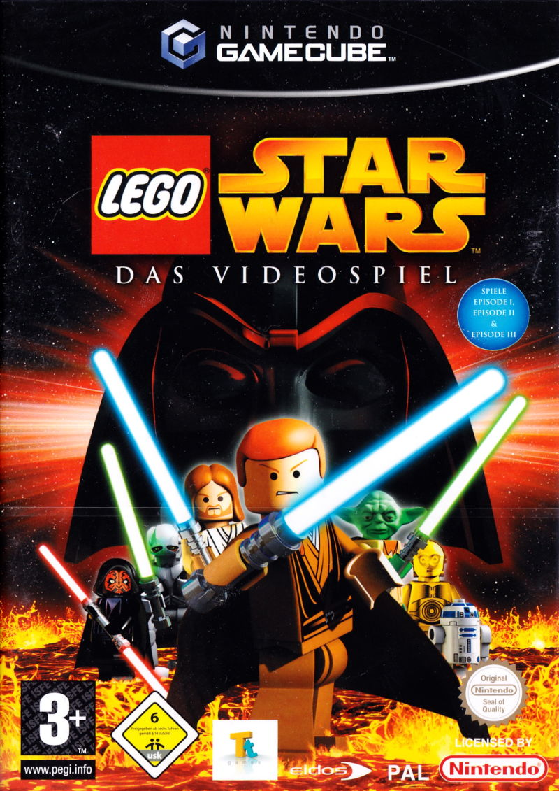 LEGO Star Wars: The Video Game GameCube Front Cover