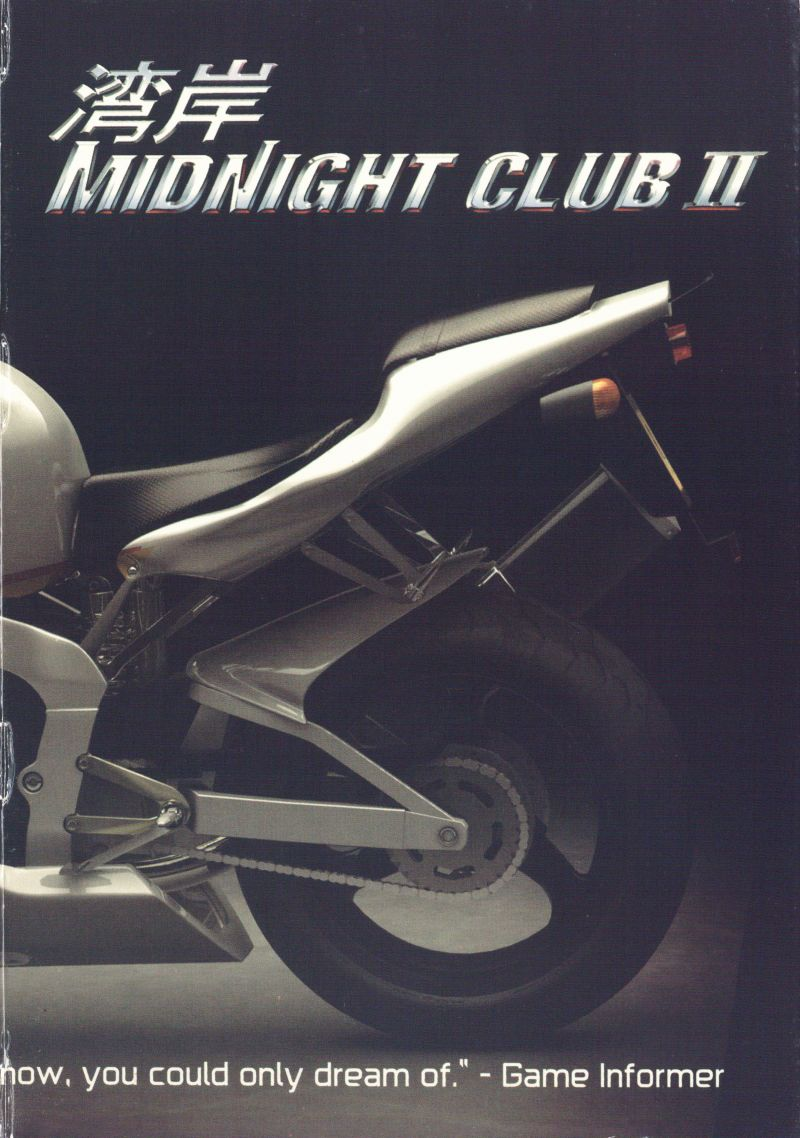 Midnight Club II Windows Inside Cover Right