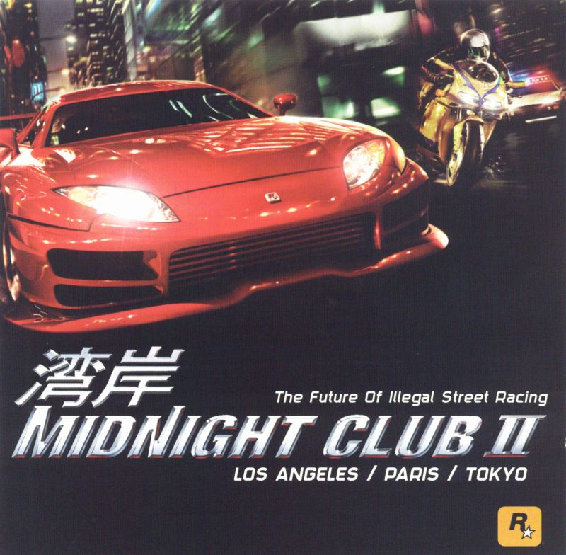 Midnight Club II Windows Other Jewel Case - Front