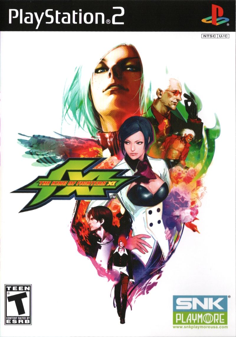 The King of Fighters XI PlayStation 2 Front Cover