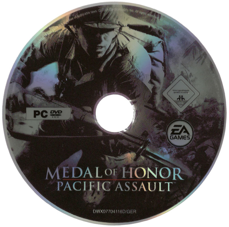 Medal of Honor: 10th Anniversary Windows Media <i>Medal of Honor: Pacific Assault</i> DVD
