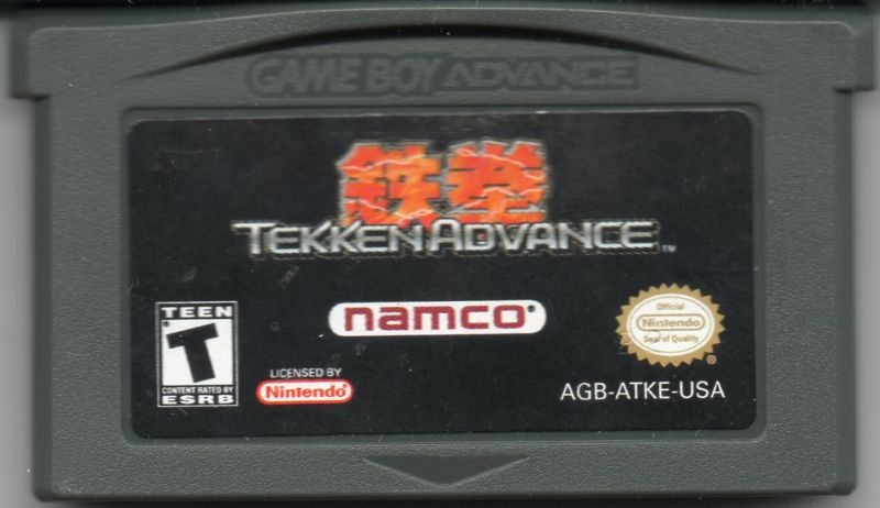 Tekken Advance Game Boy Advance Media