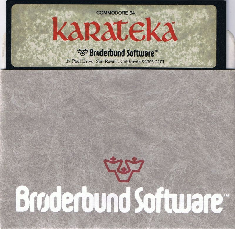 Karateka Commodore 64 Media