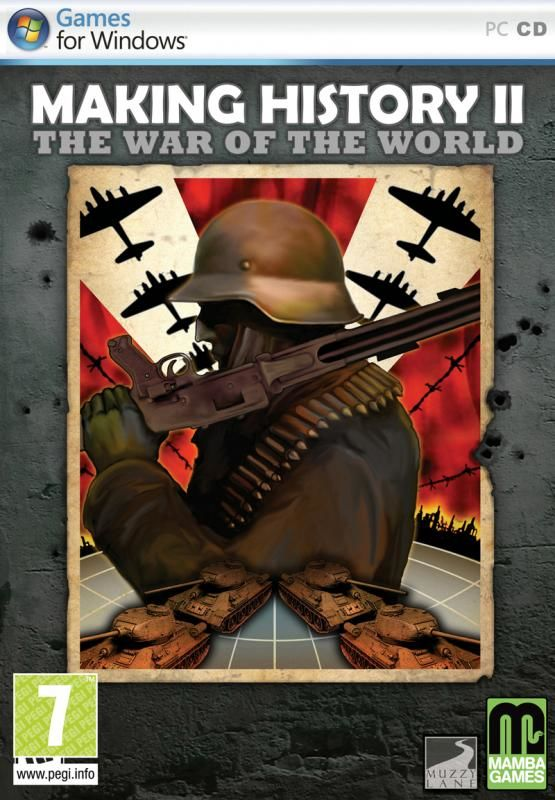 Making History II: The War of the World  Windows Front Cover