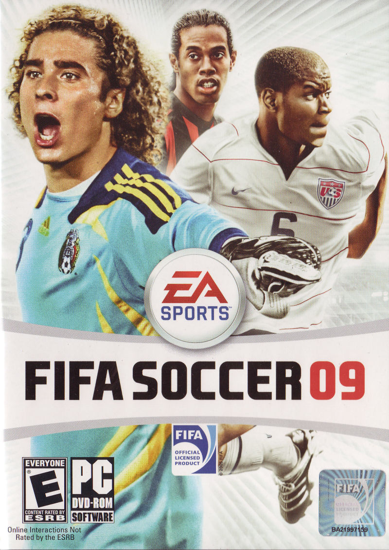 FIFA Soccer 09 Windows Front Cover