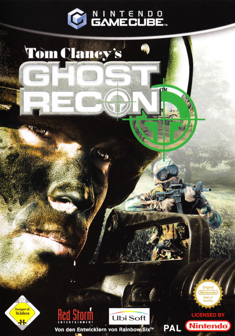 Tom Clancy's Ghost Recon GameCube Front Cover
