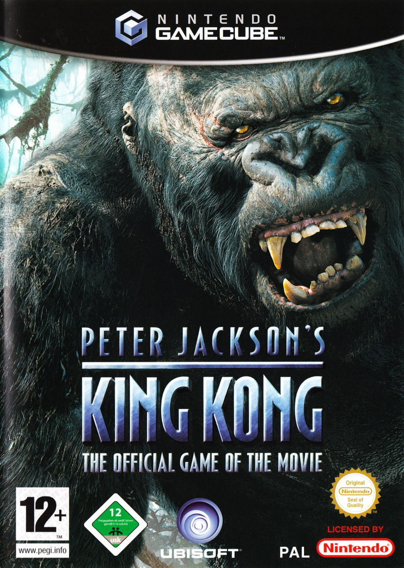 1King Kong Gamecube