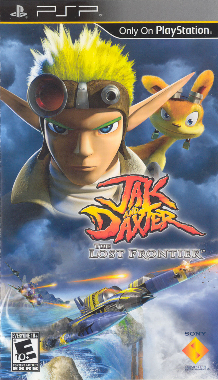 Jak and Daxter: The Lost Frontier PSP Front Cover