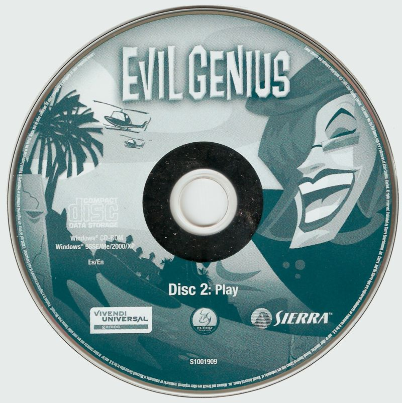 Evil Genius Windows Media Disc 2