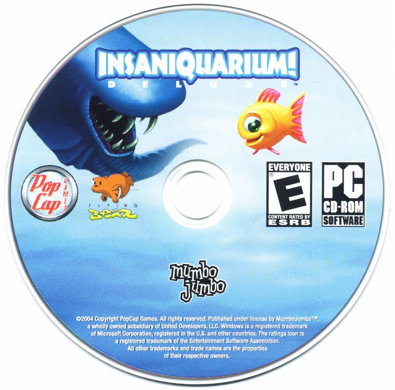 Insaniquarium! Deluxe Windows Media