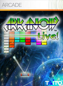 Arkanoid Live! Xbox 360 Front Cover