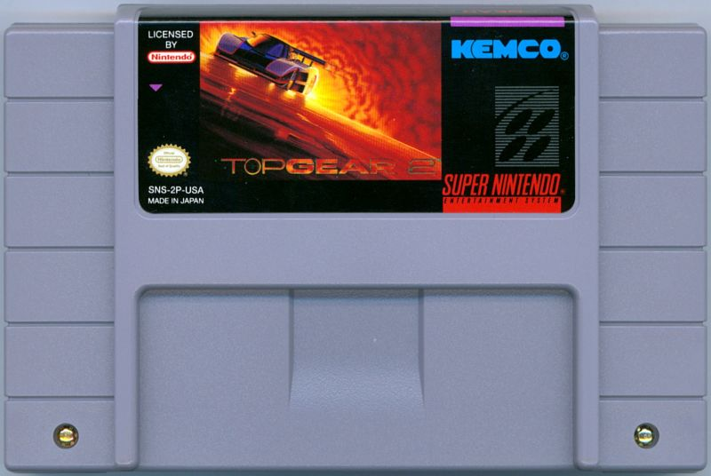 Top Gear 2 SNES Media