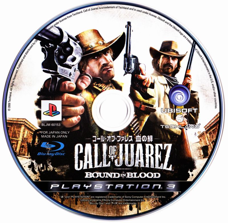 Call of Juarez: Bound in Blood PlayStation 3 Media
