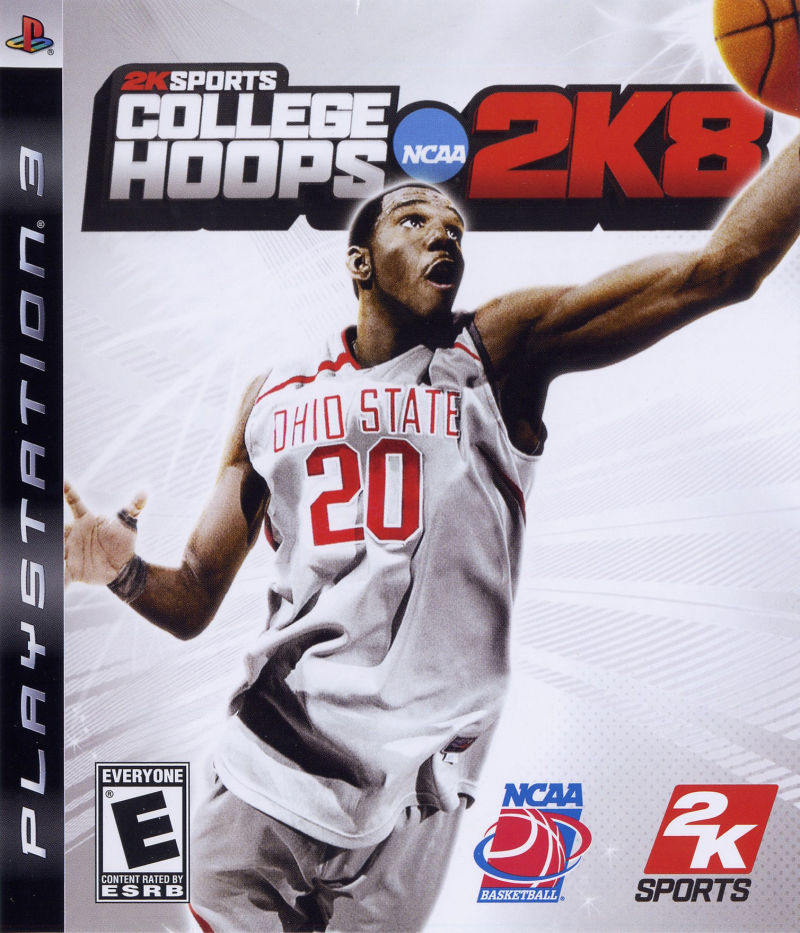 College Hoops NCAA 2K8 PlayStation 3 Front Cover