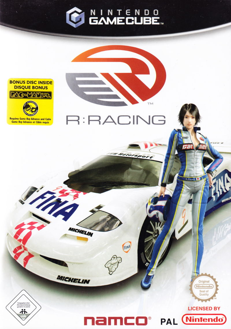 R:Racing Evolution GameCube Front Cover