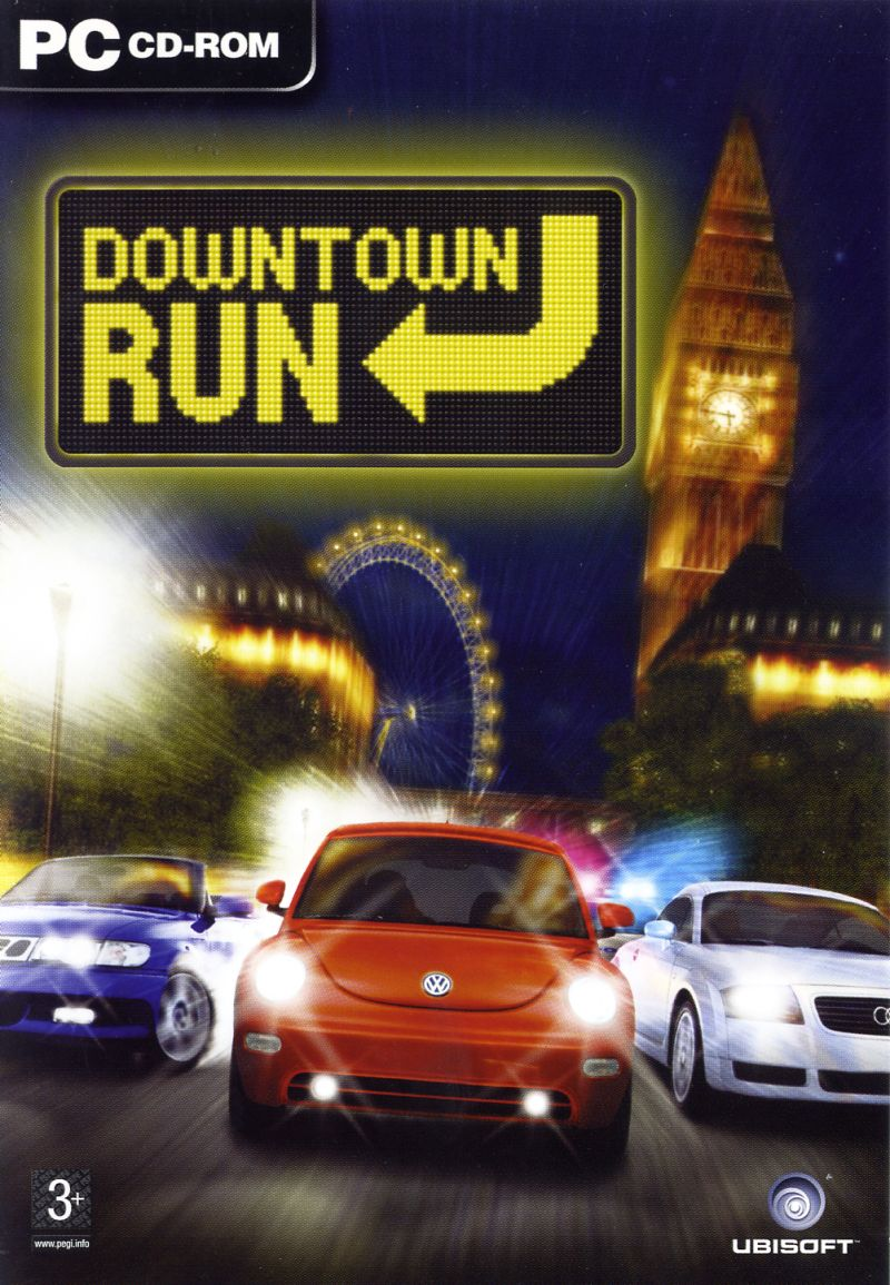 City Racer Windows Front Cover