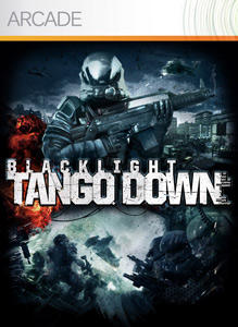 Blacklight: Tango Down Xbox 360 Front Cover