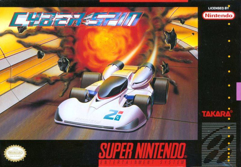 Cyber Spin SNES Front Cover