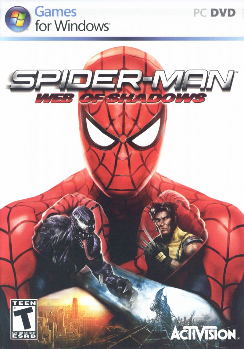 Spider-Man: Web of Shadows Windows Front Cover