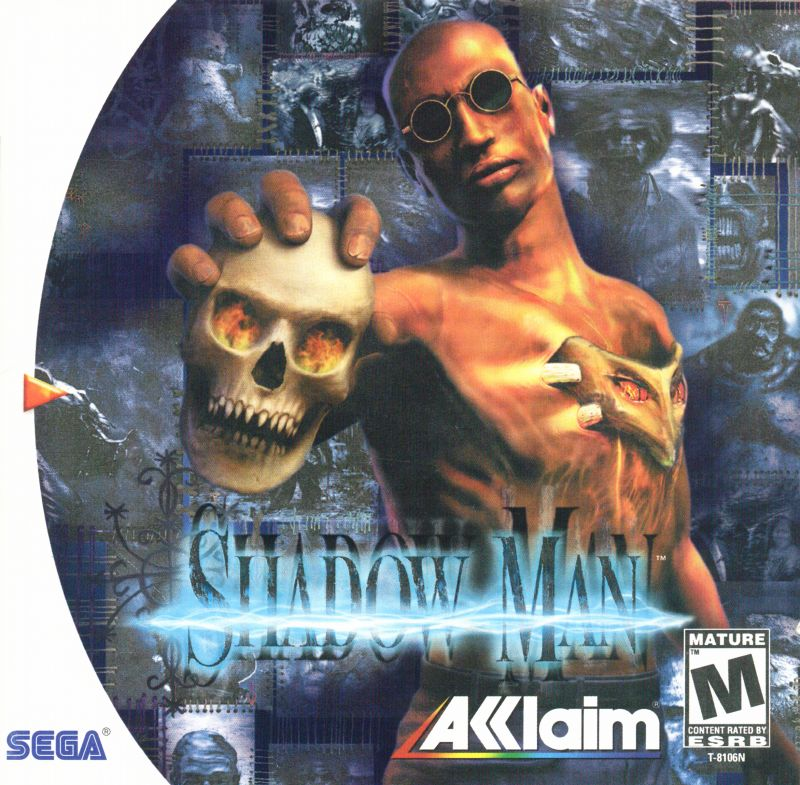 Shadow Man Dreamcast Front Cover