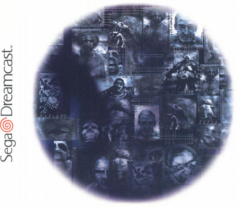 Shadow Man Dreamcast Inside Cover
